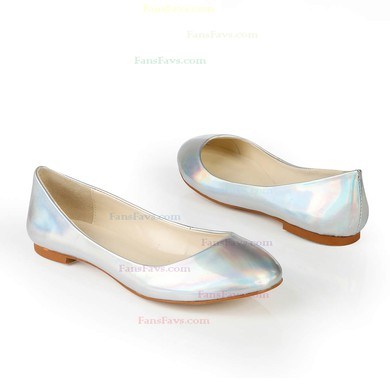 Women's Multi-color Patent Leather Closed Toe #Favs03030371
