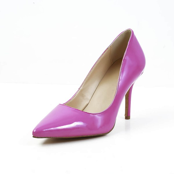 Women's Fuchsia Patent Leather Pumps #Favs03030592