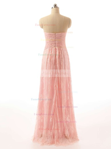 Empire Sweetheart Lace Floor-length Ruffles Prom Dresses #Favs020102462