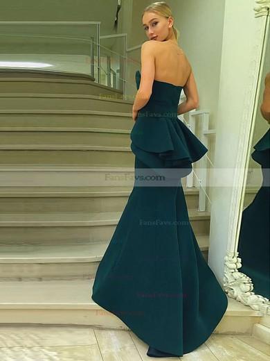 Trumpet/Mermaid Sweetheart Satin Sweep Train Sashes / Ribbons Prom Dresses #Favs020105007