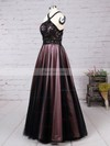 Ball Gown Halter Lace Tulle Floor-length Beading Prom Dresses #Favs020105048