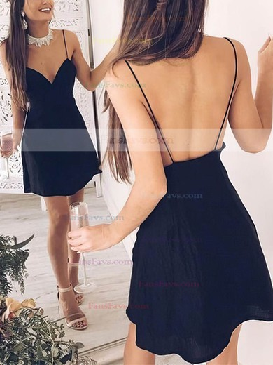 A-line V-neck Chiffon Short/Mini Prom Dresses #Favs020106309
