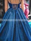 Ball Gown V-neck Glitter Floor-length Prom Dresses #Favs020106530