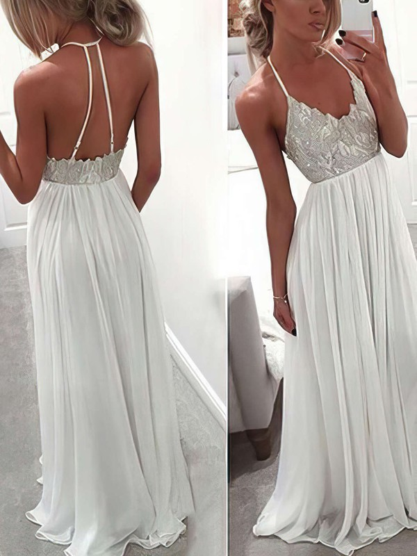 White Prom Dresses & Gowns | Cheap Ivory Prom Dresses | FansFavs