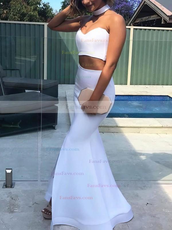 Trumpet/Mermaid Sweetheart Floor-length Satin Prom Dresses #Favs020104804