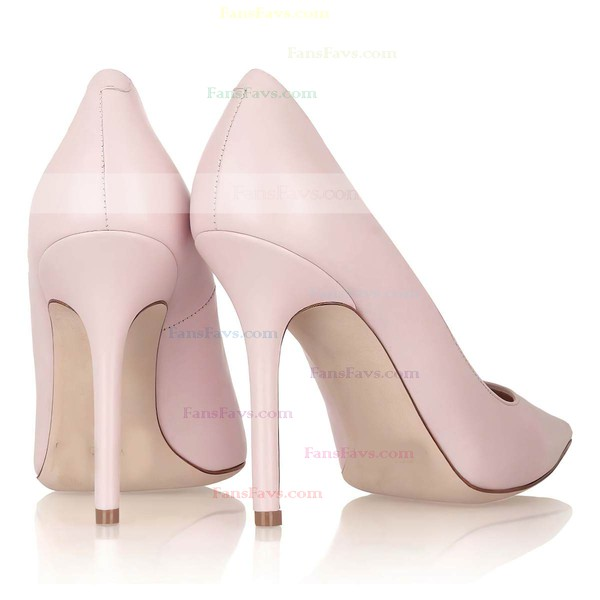 Women's Pink Patent Leather Pumps