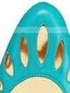 Women's Blue Patent Leather Pumps #Favs03030346